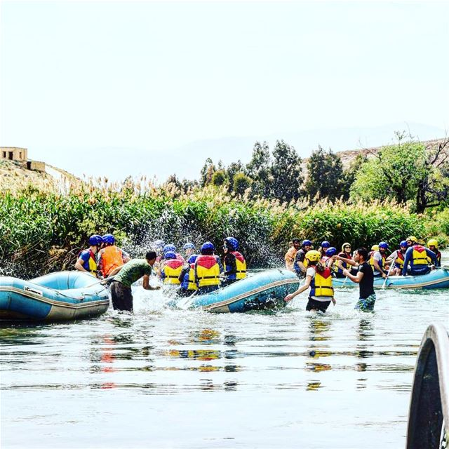 Enjoy your holiday with us at Al Assi- river . 30% discount on rafting... (Hermel Assi River)