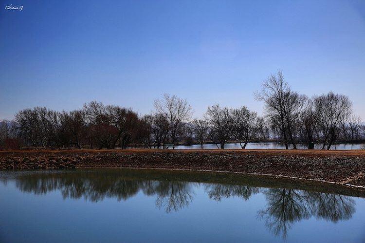 a7labaladbil3alam 💙 photo love photography camera me picoftheday ... (Taanayel Lake)