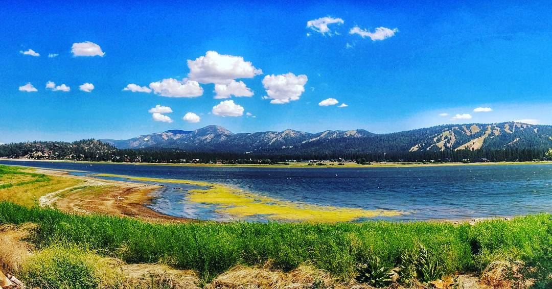This lake exceeds anything I ever beheld in beauty (Percy Shelley). Spring... (Big Bear Lake, California)