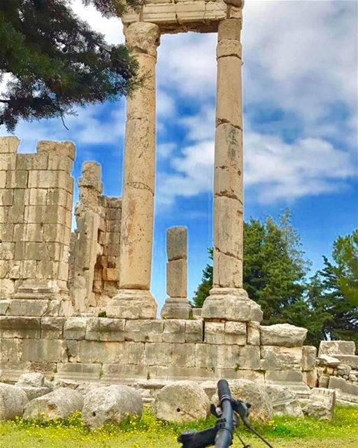 """Qasr Naous"" one off two roman temples of Ain Aakrin............. (Aïn Aakrîne, Liban-Nord, Lebanon)"