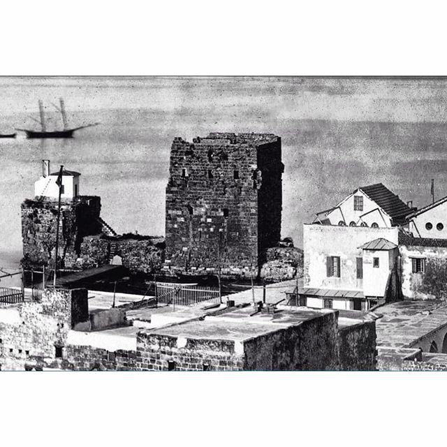 The Castle, Beirut in 1880 .