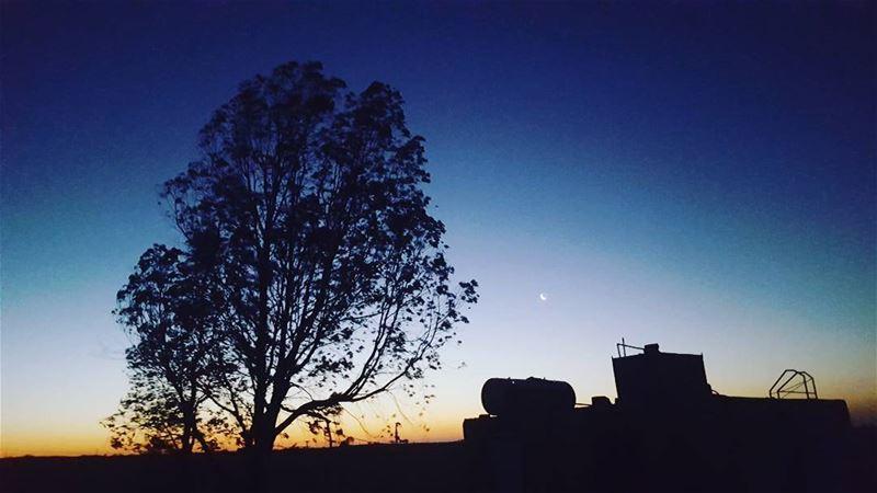 By me•• Lebanon bekaa moonlight super_lebanon ig_lebanon ... (El Hermel, Béqaa, Lebanon)