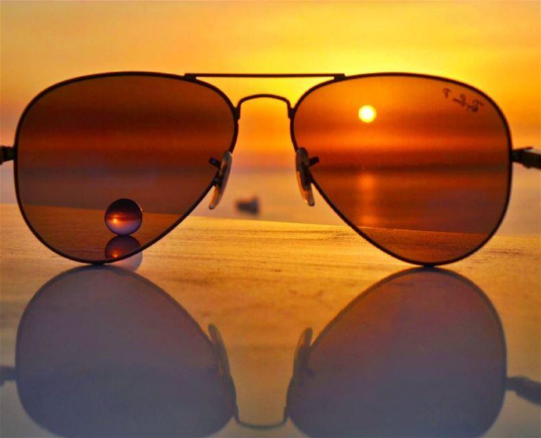 rayban sunglasses ball nikontop_ nikonworld bns_sky bns_sunset ...