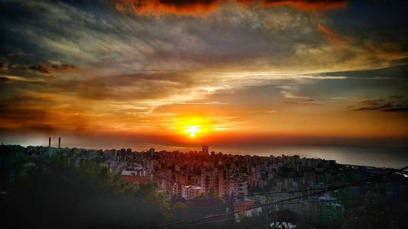 Every_Sunset_Brings_The_Promise_Of_A_New_Dawn 🌅 sunset sunrise sun ... (Ghadir, Mont-Liban, Lebanon)