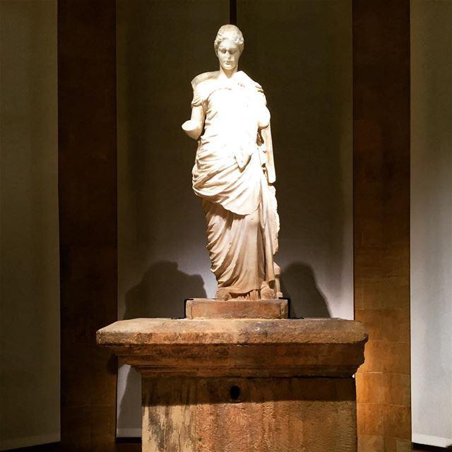Statues nationalmuseum museum Lebanon livelovelebanon livelovebeirut ... (National Museum of Beirut)