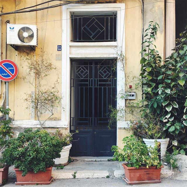 adorned doorway 🌿 | المدخل الرئيسي