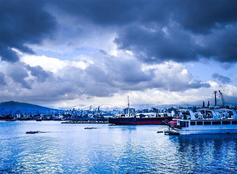 Blue Harbor. ... (Tripoli, Lebanon)
