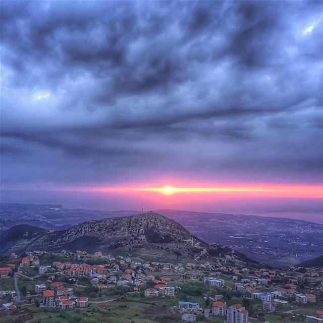 Trust in dreams, for in them is written the gate to eternity - Gibran... (Ehden, Lebanon)