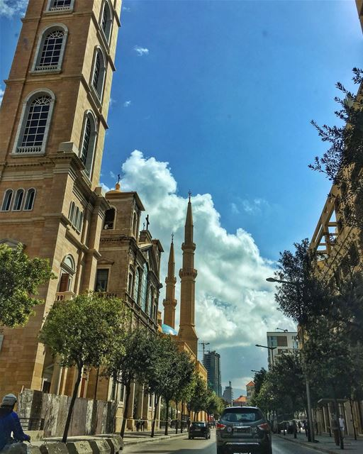 Ready, hand steady 📸📸📸 Snap ... beirut neverstopexploring cloudporn ... (Downtown Beirut)