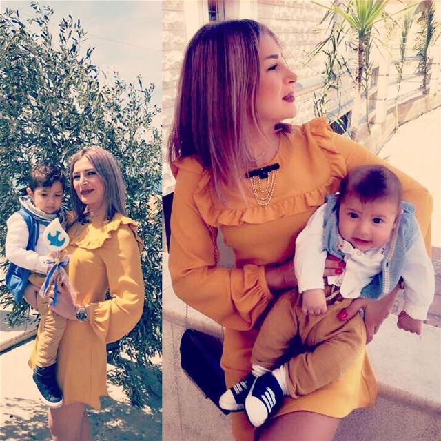 myangels😇 palmsunday lebanon family...