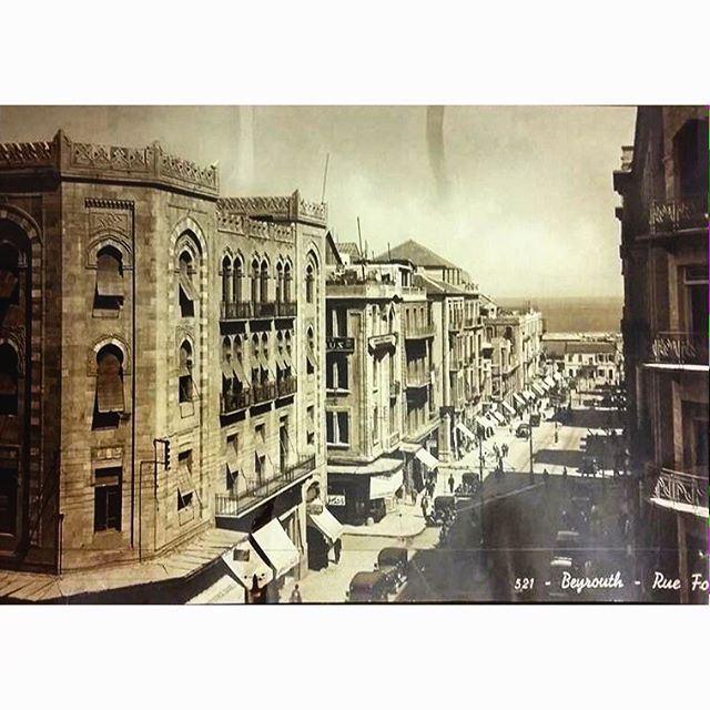 Beirut Foch Streer in 1939 .