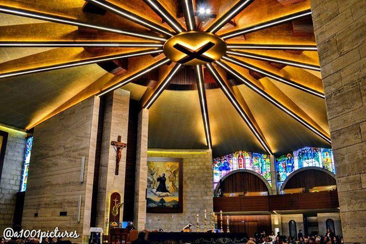 Saint Charbel church, Annaya, Lebanon..... travel lebanon nikon ... (St. Charbel, Aannaya)