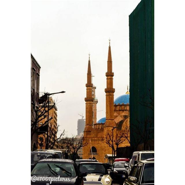Downtown Beirut.A part of Mohammed Al-Amin Mosque!..... travel ... (Downtown Beirut)