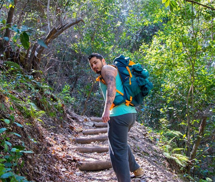 hike while you can 🍃🍃...... hike hiking camp camping adventure... (Chouwen)