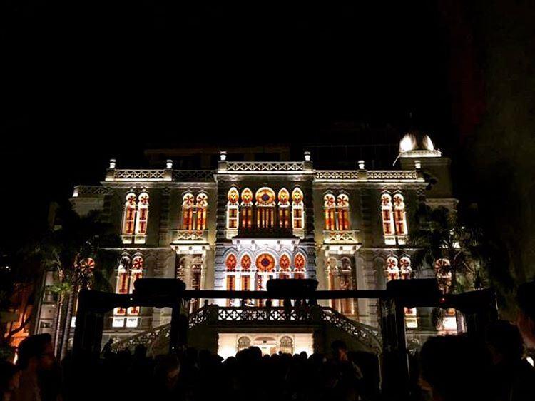 nuit des musées 🏛 lebanon lebanon_hdr gopro goprolife goprooftheday ... (Aser Sersouk)