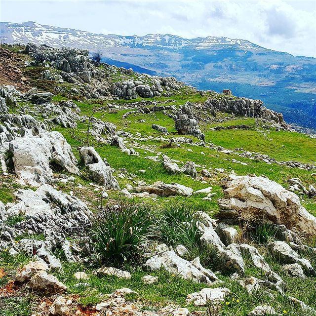 hiking hikingadventure hike mountain mountainscape landscape spring... (Zaarour)