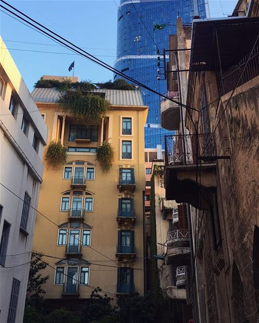 Daily Beirut bw Tradition & Modernity lebanon livelovelebanon beirut ... (Achrafieh, Lebanon)