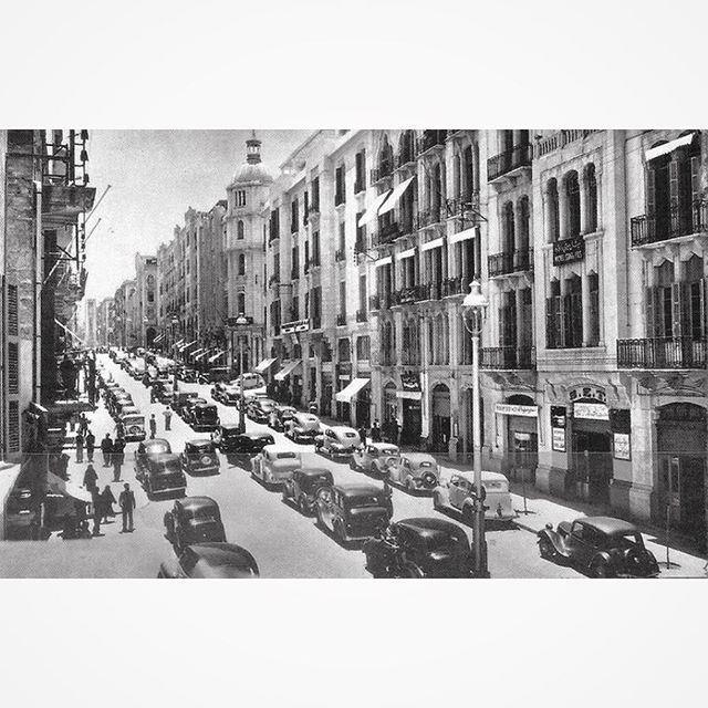 صباح الخير من بيروت عام ١٩٤١،