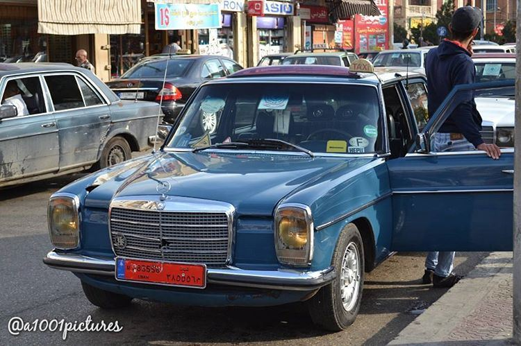 The one and only, Lebanon's taxi, the classic Mercedes Benz !....... (Tripoli, Lebanon)