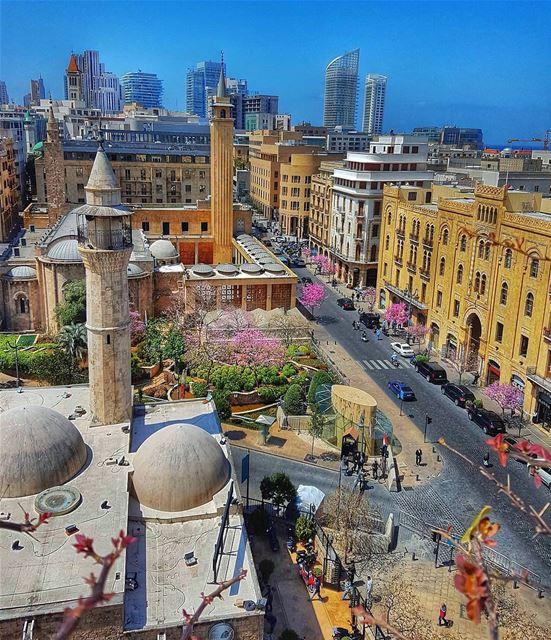 City views.By @rogergaspar1 DowntownBeirut BeirutDowntown Beirut ... (Downtown Beirut)