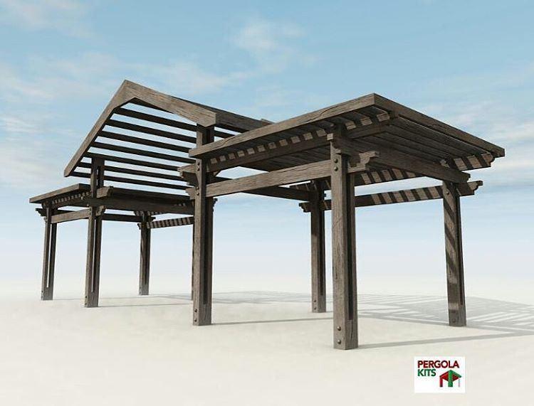 Under Construction.. StayTuned PergolaKitsLebanon. Pergola Wood ... (Mansourieh)