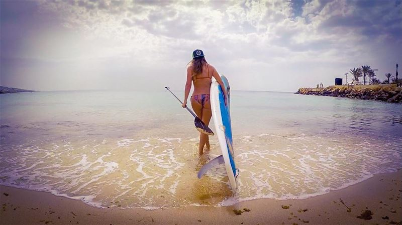 Breathe... moments like these last forever ✨... standuppaddle sports ... (Batroûn)