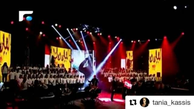 Repost @tania_kassis ・・・Don't miss the broadcast of TANIA KASSIS last...