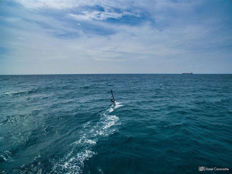 Escape to the void windsurf livelovelebanon livelovebeirut ...