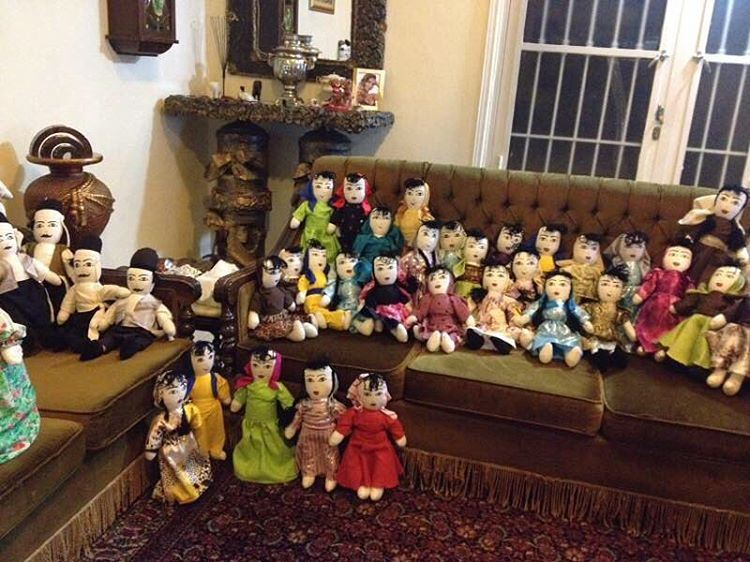 Our  JabalMoussa  traditional  dolls are beautifully dressed and ready for... (Jabal Moussa)