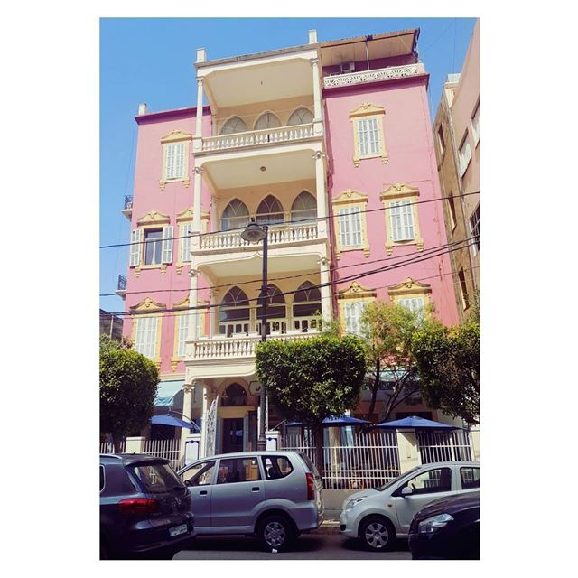 This pink brings back Indian memories--- TakeMeTo Gemmayze Beirut ... (Gemmayze)