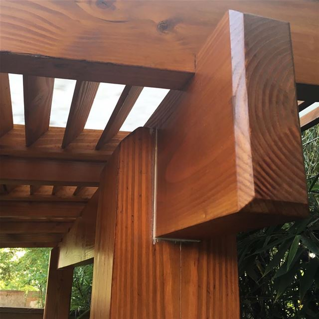 Everything is in the Details! PergolaKitsLebanon. Pergola Wood Design...