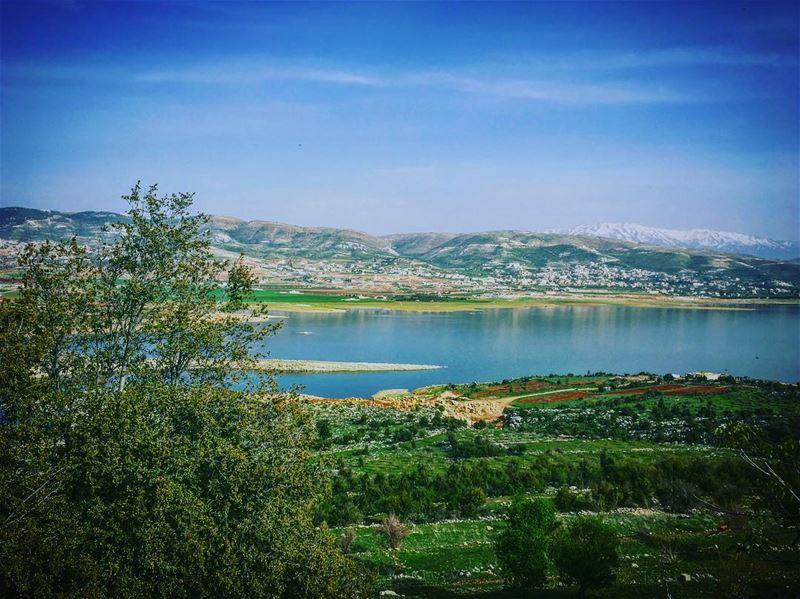 lebanon bekaa saghbin karaoun qaraoun lake livelovebekaa ... (Saghbin - Qaraoun)