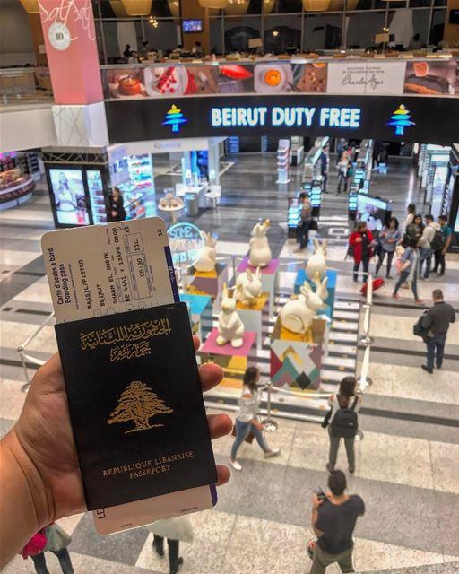 Happy Easter Vacation IGers👋🏻😍 (Beirut–Rafic Hariri International Airport)