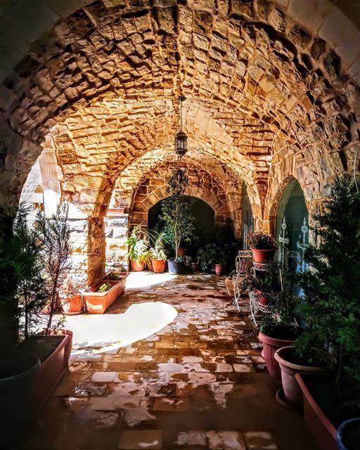 ARCADES OF SOLITUDEDeir Elias Orthidox MonasteryLebanon... (Jar El 3ayn - Zeghrin)