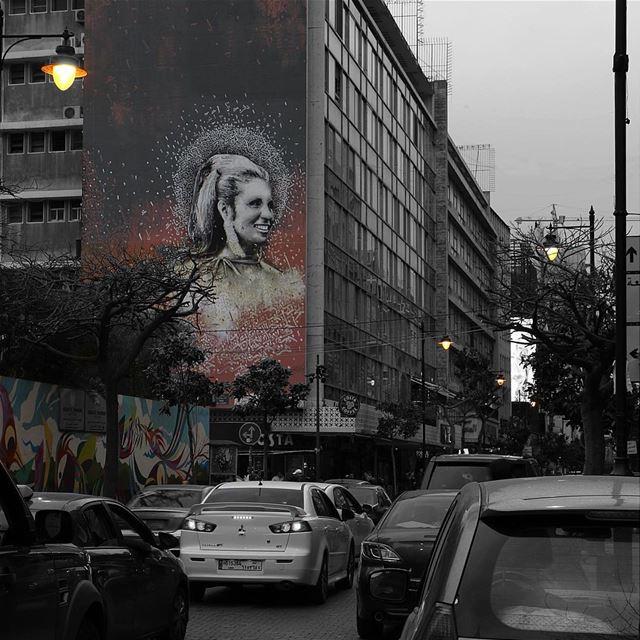 Have a nice holiday.... hamra beirut lebanon beautifuldestinations... (Hamra street , Beirut - شارع الحمرا ، بيروت)