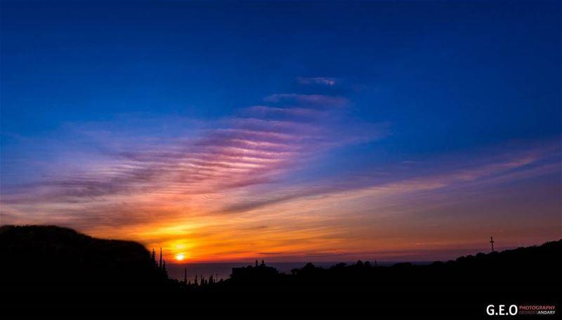 sunsetinbyblos sunsetphotoghraphy sunsetsky sunset bluesunset ...