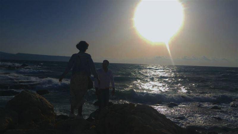 Light despite all the darkness 😂😂😂 sea lebanon summersunset ...