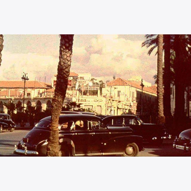 Beirut Near Zaytoune Street in 1952 .