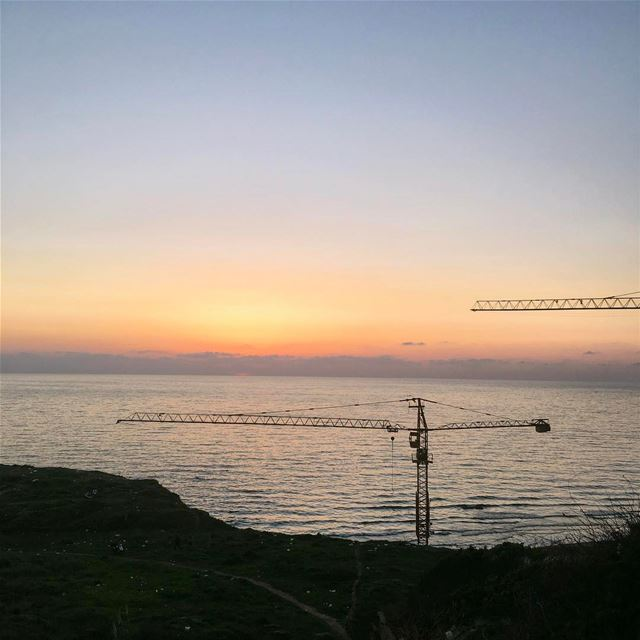 Every Sunset is more beautiful than its previous beautiful_lebanon ... (Beirut, Lebanon)