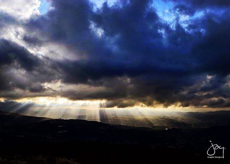 goodfriday sky clouds light panoramic mountains faith hope ...