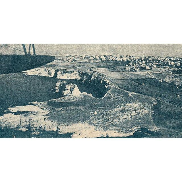 Beirut Raouche in 1929 ,