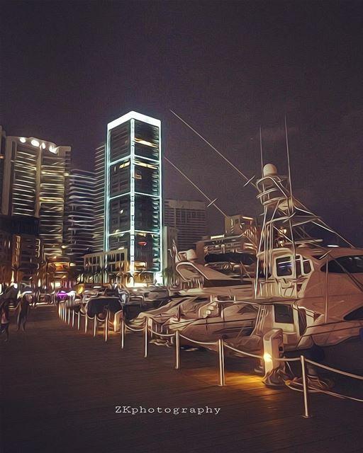 Beirut 🇱🇧 • insta_lebanon ig_lebanon lebanon_pictures loves_lebanon... (Zaitunay Bay)