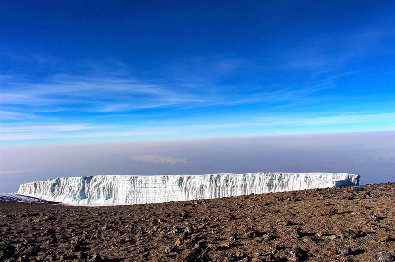 At first sight, Kilimanjaro's glaciers look like nothing more than big...
