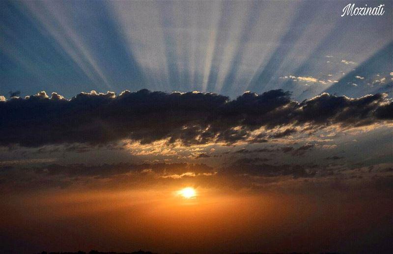 Don't Forget Beautiful Sunsets Need Cloudy Skies ~ Paolo Coelho..... (Hoûmîne El Faouqa, Al Janub, Lebanon)