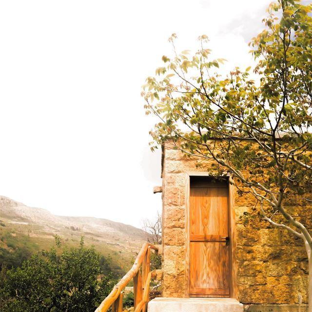 The Perfect Getaway 🏡إنتِ وأنا ياريت عِنّا كوخ، مخبا بفيّ الحور والكينا،... (Atelier Assaf Assaf)