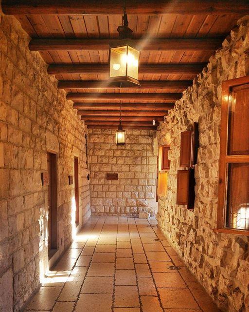 Beautiful architecture ❤ lebanon nature naturelovers natural ... (Kfifan Monastery)