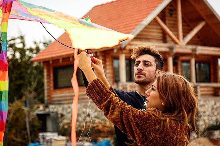 طيري يا طيّارة ، طيري يا ورق وخيطان photo credit: @janayounes kite ... (Wood Hills Resort)