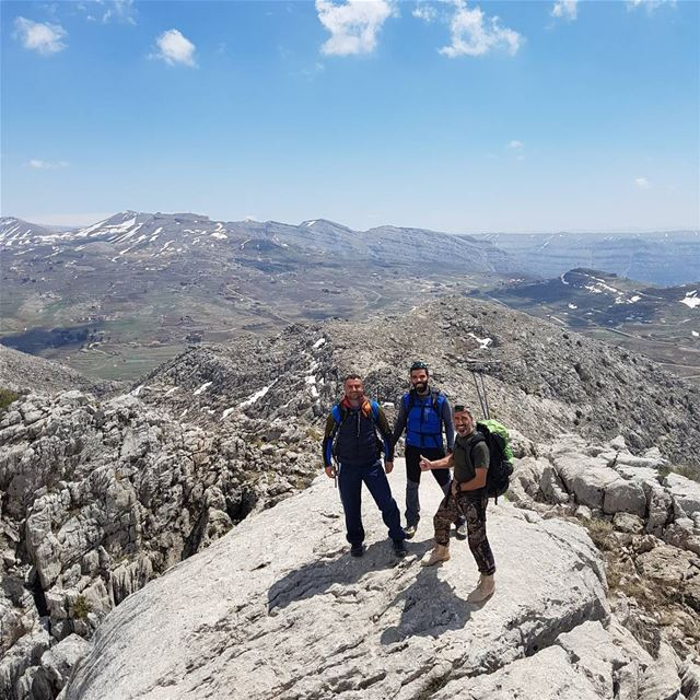 After 3 hours of climbing 💪 climbing laklouk tanourine hiking ... (Balaa, Tanourine)