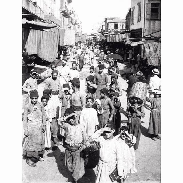 بيروت الجميزة عام ١٩١٩ ،
