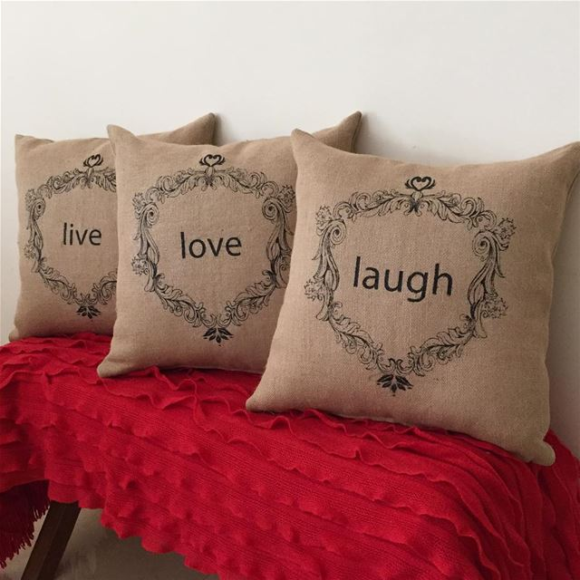 Live and let Live ❤️ Write it on fabric by nid d'abeille  shabbychic ...